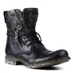 TITANIUM BLACK Limited edition byBunker Footwear.