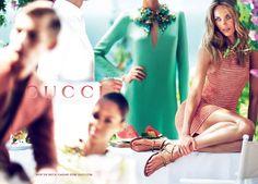 Gucci Resort 2013 Ad Campaign: Joan Smalls, Karmen Pedaru, & Nadja Bender : Mert & Marcus