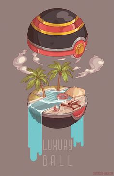 """shattered-earth: """" Some Pokeball interior illustrations! I would love to do more of these, maybe even simplified ones where you can commission your pokemon in your pokeball of choice, what do you. Pokemon Legal, Pokemon Memes, All Pokemon, Pokemon Fan Art, Japan Kultur, Japon Illustration, Pokemon Pictures, Video Game Art, Video Games"""