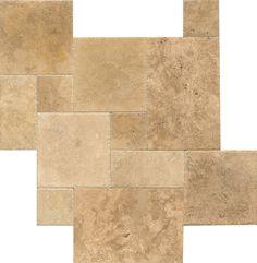 Warm Walnut - BROWN Travertine Tile - TRVWARMWAL1624UBC   Bedrosians Tile & Stone