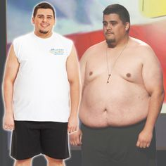 T.C.'s before and after transformation! #BiggestLoser