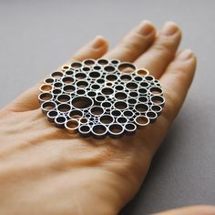 """""""Excuse me, I ordered a LARGE ring!"""" lol (Ring by Alisa Miller)"""