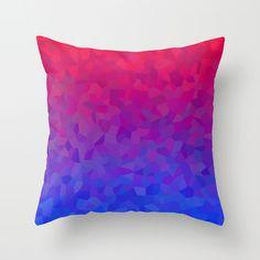 Voronoi Pattern 1  Throw Pillow