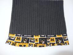 MU Mizzou Ruffled Dish Towel  Kitchen Towel Gift by babydelights1, $11.99