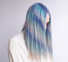 14 Pastel Hairstyles to Get You Pumped for Spring via Brit + Co