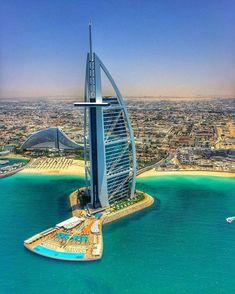 Your Travel Direct. Want To Know About Hotels? Are you planning a big trip and you would like to stay at a nice hotel? Dubai City, Dubai Uae, Dubai Trip, Futuristic Architecture, Amazing Architecture, Beautiful Hotels, Beautiful Places, Places To Travel, Places To Visit