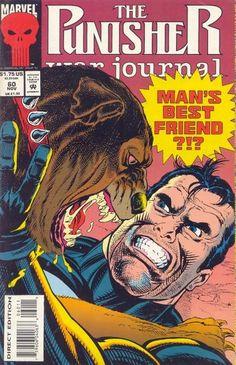 Punisher War Journal # 60 by Gary Kwapisz