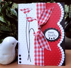 Scalloped Poppies by jasonw1 - Cards and Paper Crafts at Splitcoaststampers