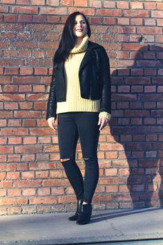 Kleidermädchen - autumn outfit of the day sweater - stefanel | jacket - topshop | jeans - topshop | shoes - zign