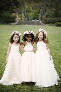 Daminhas para um casamento no campo