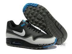 http://www.okkicks.com/nike-air-max-1-hyperfuse-premium-black-white-blue-shoes-lastest-tjwaybr.html NIKE AIR MAX 1 HYPERFUSE PREMIUM BLACK WHITE BLUE SHOES LASTEST TJWAYBR Only $47.18 , Free Shipping!