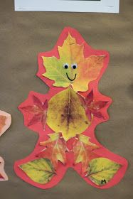 "Today we read a very fun story entitled ""Leaf Man"" by Lois Ehlert. Afterwards we went on a leaf hunt to see how many different kinds of lea..."