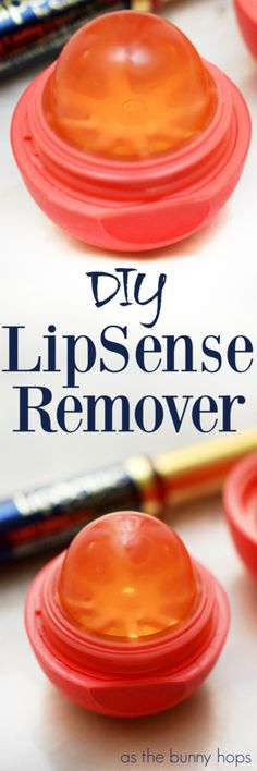 Take an empty lip balm container and a glycerin facial bar and turn them into the perfect LipSense remover!