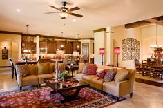 Milano Family Room by Sitterle Homes