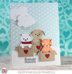 Hello! Part of the new Avery Elle release was this adorable set called Hang In There . It is a small set with some amazing coordina...