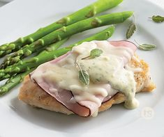 "This irresistible dish fulfills the promise of the Italian word ""saltimbocca"" - to jump into the mouth. │Chicken Saltimbocca Recipe"