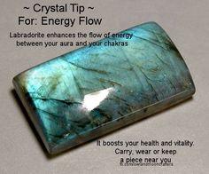 Crystal Tip - Energy Flow