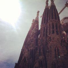 Sagrada church, spain