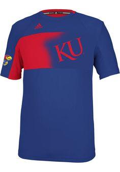 Kansas Jayhawks Adidas T-Shirt - Mens Blue Spring Game Clima T-Shirt http://www.rallyhouse.com/shop/kansas-jayhawks-adidas-kansas-jayhawks-adidas-tshirt-mens-blue-spring-game-clima-tshirt-14859602 $55.00