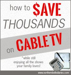 Save Thousands on Cable