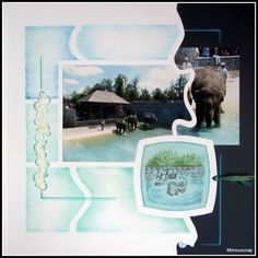 Pairi Daiza 2012 - Le bain des éléphants