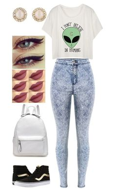 """""""Untitled #420"""" by rhay-q ❤ liked on Polyvore featuring Kate Spade and Vans"""