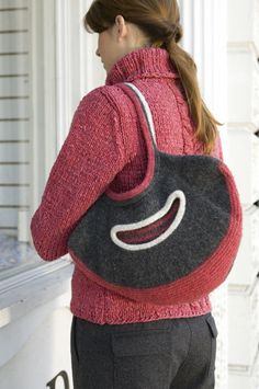 Free+Knitting+Pattern+-+Bags,+Purses+&+Totes:+Crescent+Bag