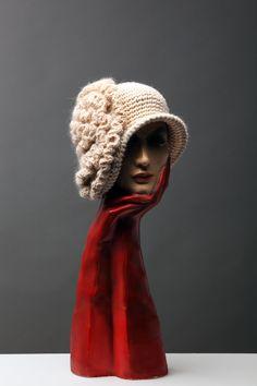 """""""Madame de Récamier"""" di Capplé - pièce unique - Museo della Moda e delle Arti Applicate di Gorizia - www.capple.it"""