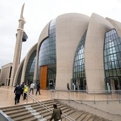 Central Mosque in Cologne, Germany