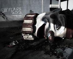 Los 24 Lugares Abandonados Más Espectaculares Del Mundo. Parque Six Flags Jazzland. Nueva Orleans, EEUU.