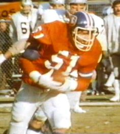 Linebacker BOB SWENSON (51) gets an interception in the AFC Championship game against Oakland on January 1, 1978!!