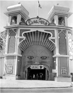 Luna Park in Melbourne. Melbourne Victoria, St Kilda, The Past, Lost, Australia, Black And White, Park, History, Country