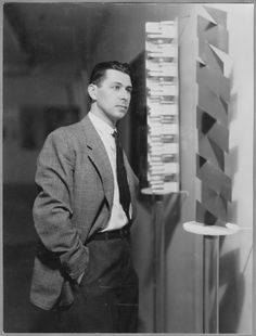 Herbert Bayer, Director of the exhibition 'Bauhaus MoMA, NY, December 1938 through January 1939 Herbert Bayer, Bauhaus, Vision Photography, Photography Exhibition, Head Heart Hand, Berlin, Signature Fonts, News Studio, Art Archive