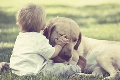 baby + doggy