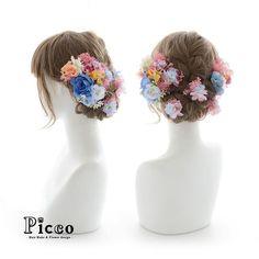 Gallery 240 Order Made Works Original Hair Accessory for SEIJIN-SHIKI #ピンク & #ブルー の お花でまとめて 可愛さ満開 # 両サイドの #ローズ と バックには Picco 自慢の #小花 散りばめ # #女の子らしさ を十二分に引き立たせます!! #成人式 #振袖 #オーダーメイド #髪飾り #前撮り # #花飾り #造花 #ヘアセット #ヘアアレンジ #アップスタイル #二十歳 #記念日 #hairdo #flower #hairaccessory #picco #wedding #hairarrange #anniversarry ただ今、大変混雑しております。 ご注文日より1ヶ月以上お時間を頂く場合もございますので ご依頼はお早めにお願いいたします。