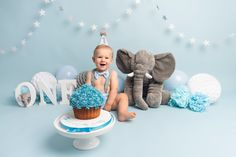 Cake smash session for birthday in Sheffield, Yorkshire. Boys First Birthday Party Ideas, Baby Boy 1st Birthday Party, 1st Birthday Cake Smash, First Birthday Pictures, Birthday Themes For Boys, Half Birthday, Baby Party, Baby Cake Smash, Baby Boy Cakes