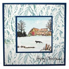 This is the gorgeous new scene-it set designed by Sharon Bennett. Clear set consists of 12 stamps. As seen on Create & Craft. This Gorgeous card was made by Jenny Mayes