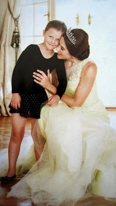 Crown Princess Mary of Denmark with Princess Isabella