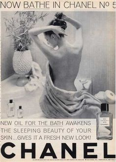 Chanel No 5 Now Bathe In... Woman (1964)