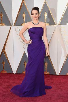 Hot Sale New Design Purple Celebrity Dresses Oscar Red Carpet 2016 Elegant Off The Shoulder Strapless Evening Party Dress