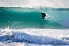 Surfer guy getting barrel  - Sports Swell Surf, Surfer Guys, Gold Coast, Barrel, Surfing, Waves, Australia, Beach, Summer
