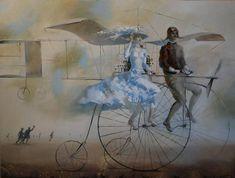 15  Dream Paintings by Oleg Tchoubakov.   Born in 1969, Oleg is an artist based on Minsk, Belarus. Oleg studied at the Art School . In 1995 he graduated from the Belarusian Academy of Arts.