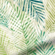 Lounge Curtains, Green Curtains, Large Roman Blinds, Made To Measure Curtains, Beautiful Curtains, Bedroom Plants, Tropical Leaves
