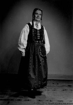 Borghild Tranum Røer - Norsk Folkemuseum - Fotograf Jorgensen