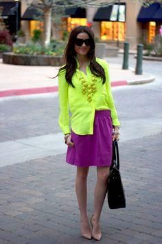 Neon bright