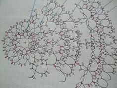 編み図「空」を公開します^^