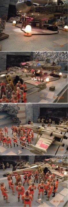 Impressive: Hasbro Star Wars Diorama Contest | Geekologie