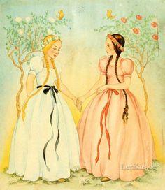 Schneeweißchen und Rosenrot.