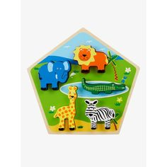 Image 0 Holzpuzzle Dschungeltiere VERTBAUDET Puzzles, Nintendo 64, Baby, Games, Logos, Gaming, Toys, Kids, Puzzle