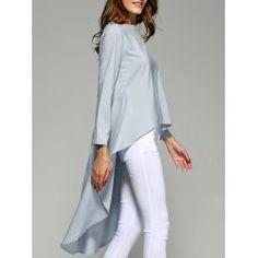 T Shirts For Women - Cool Tees Fashion Sale Online Fashion Sale, Look Fashion, Fashion Outfits, Fashion Clothes, Cream T Shirts, Latest Fashion For Women, Womens Fashion, High Low Top, Cheap Shirts